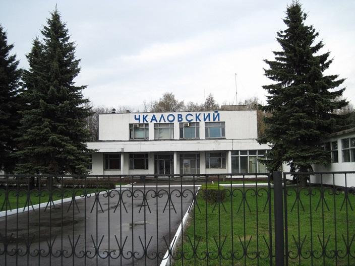 Фасад главного здания аэропорта