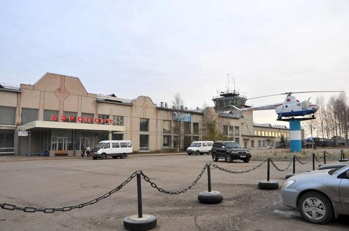 Фасад аэропорта Ухта