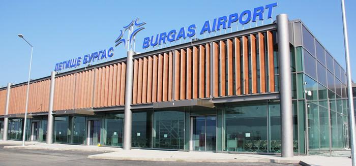 Новый терминал аэропорта Бургас
