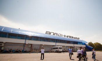 Терминал аэропорта Владикавказ