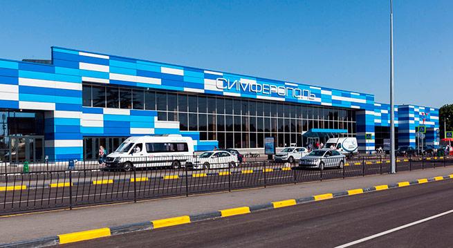 Вид обновленного здания аэропорта
