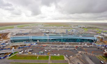 Как выглядит аэродром Домодедово