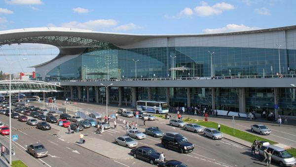 Фасад одного из терминалов Шереметьево