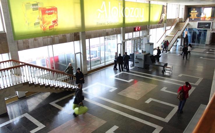 Первый этаж терминала Владикавказ