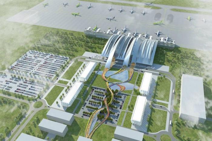Схема инфраструктуры аэропорта Платов