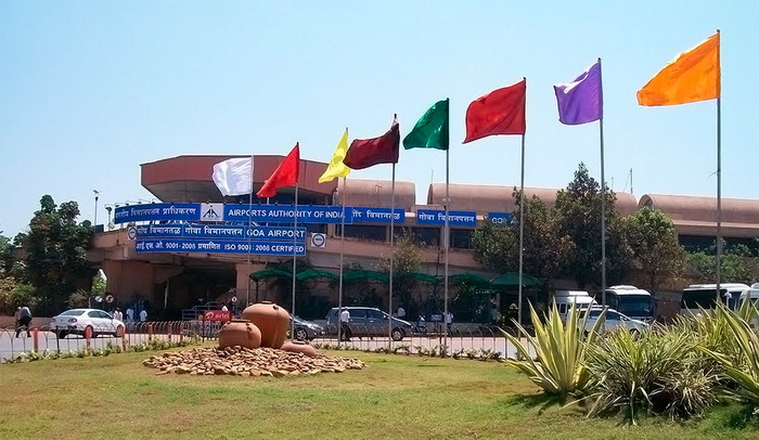 Старый терминал аэропорта Гоа