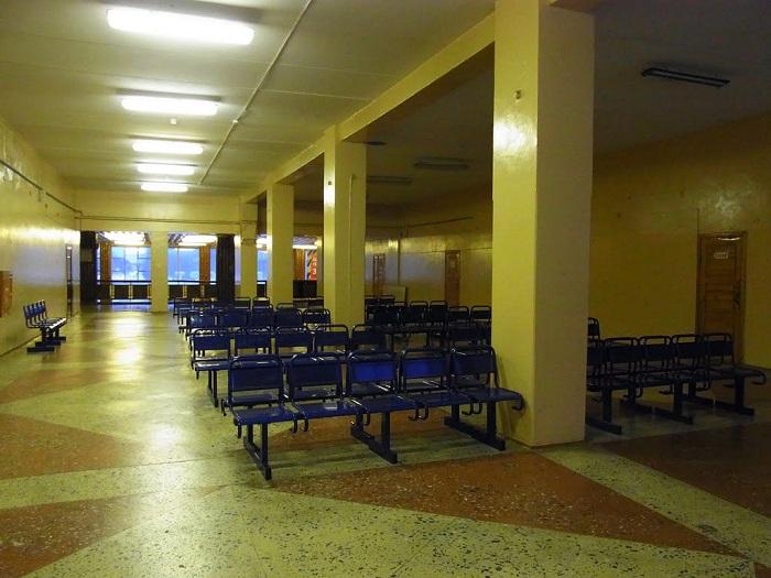 Зал ожидания аэровокзала Ухта