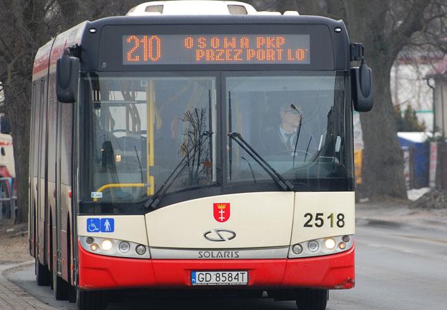 Автобус 210 из аэропорта Гданьск