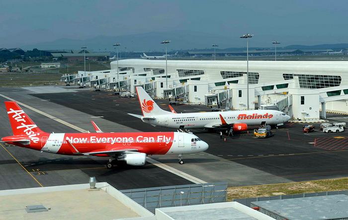 Самолеты крупнейших перевозчиков аэропорта Куала-Лумпур