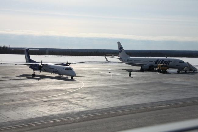 Фото взлетно-посадочной полосы в Talakan Airport
