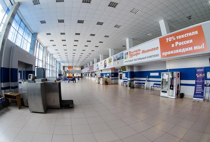 Зал ожидания аэропорта Иваново