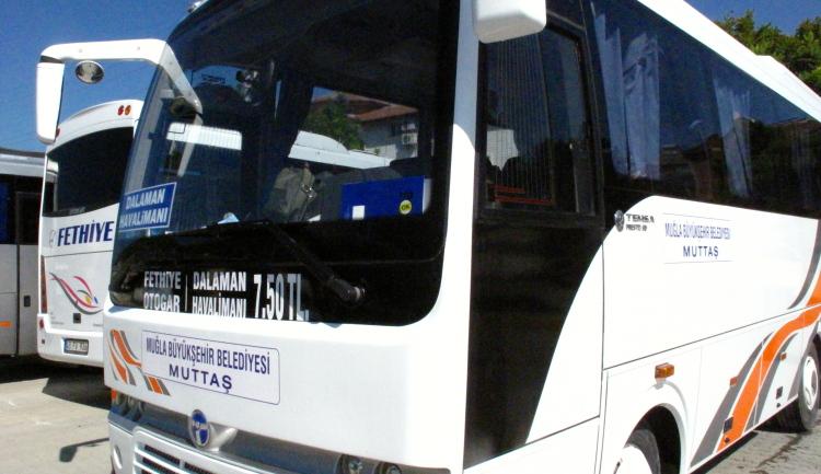 Самый дешевый транспорт из аэропорта Даламан – автобус