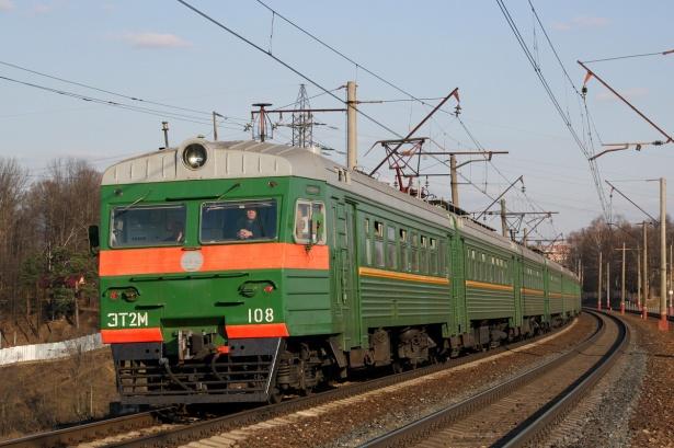 Электричка в Домодедово