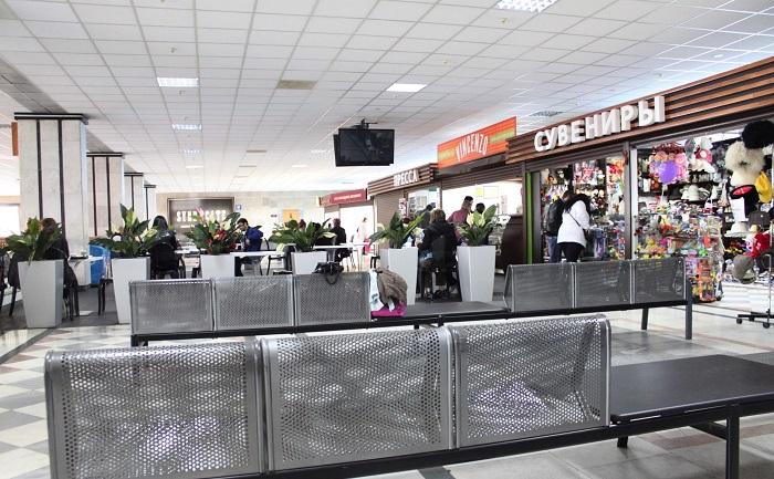 Второй этаж терминала Владикавказ