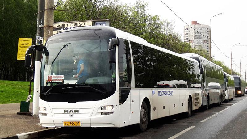 Автобус 308 в аэропорт Домодедово