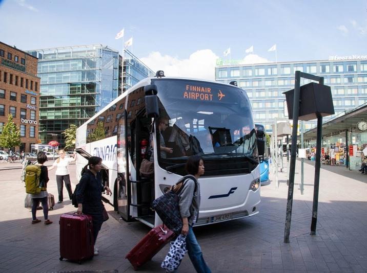 Автобус Finnair