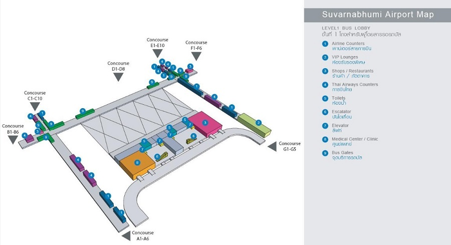 Схема 1го этажа