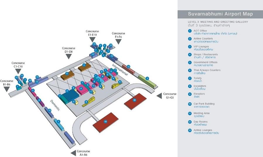 Схема 3го этажа