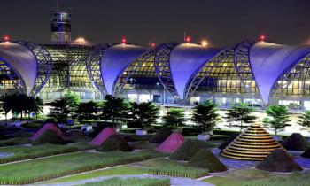 Великолепный аэропорт соответствует самым высоким мировым стандартам