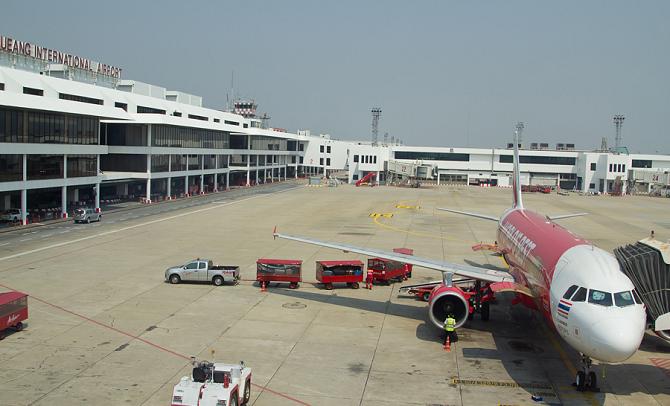 Мыанг (Муанг) является самым бюджетным аэропортом