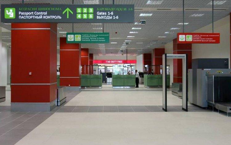 Внутри нового терминала