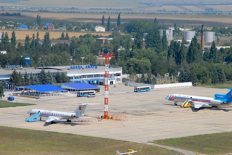 Аэропорт г. Анапа – один из крупнейших в стране