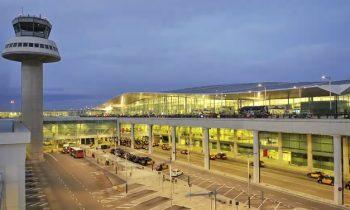 Аэропорт Барселоны – панорамный вид
