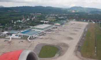 Аэропорт Пхукета, вид сверху