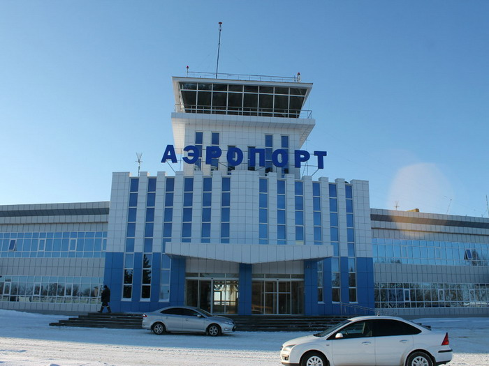 Аэропорт Саранск, вид здания снаружи