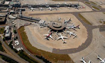 Аэропорт, вид сверху