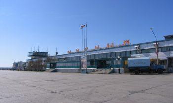 Мирный, вид на терминал