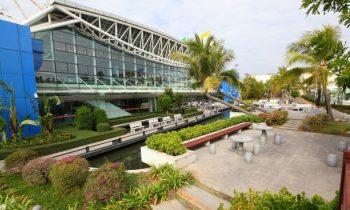 Вид на терминал