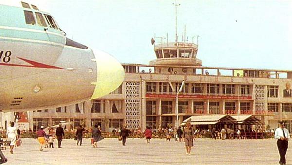 Так выглядело здание аэропорта образца 1964 года