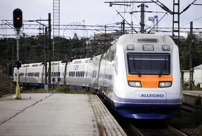 Поезд Питер – Хельсинки