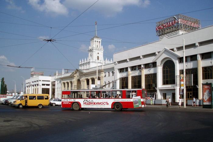Привокзальная площадь Краснодара