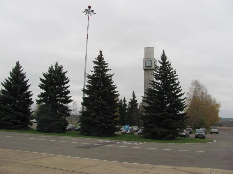 Вид на парковку