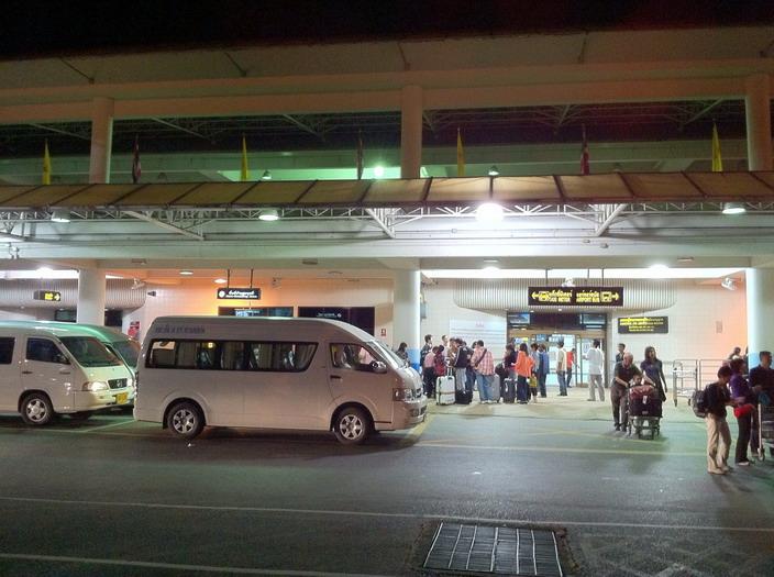 Зона посадки в автобусы