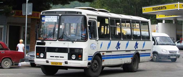 От Сочи до Лазаревского курсируют автобусы