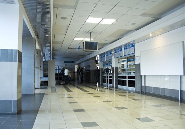 Вид терминала внутри
