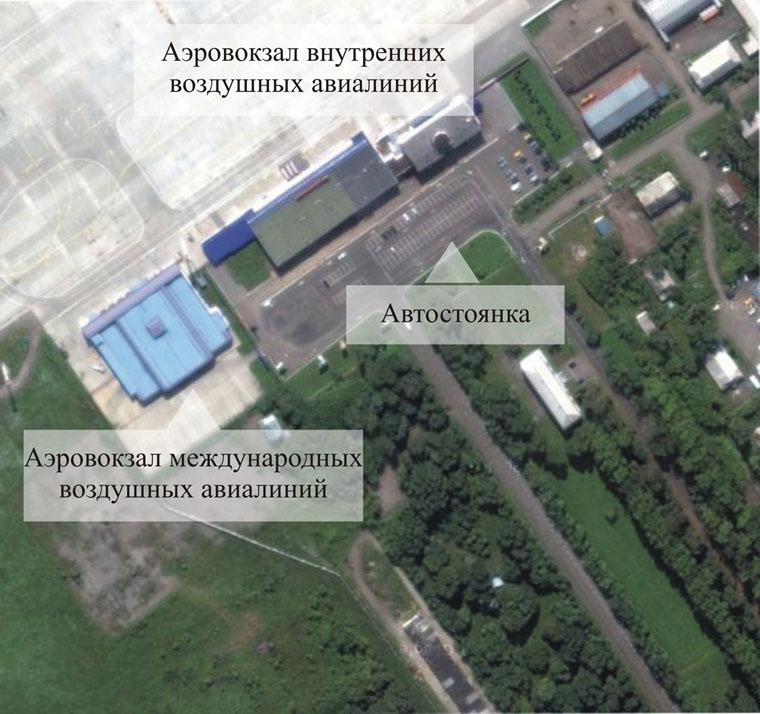 Схема аэропорта Кемерово