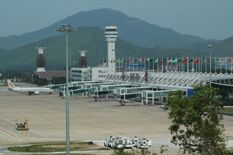 Зона посадки аэропорта