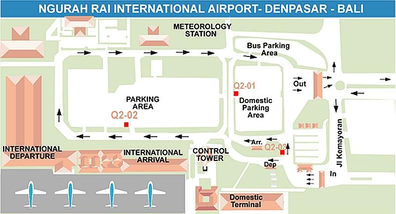 Карта аэропорта