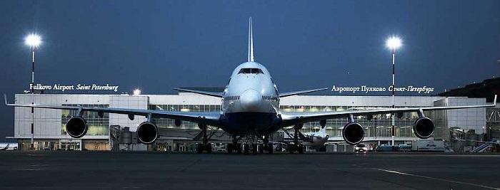 Самолет в Пулково