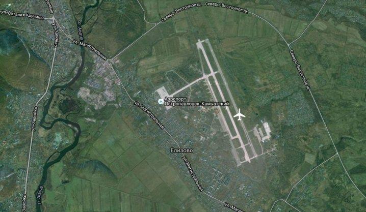 Аэропорт Елизово имеет выгодное местоположение