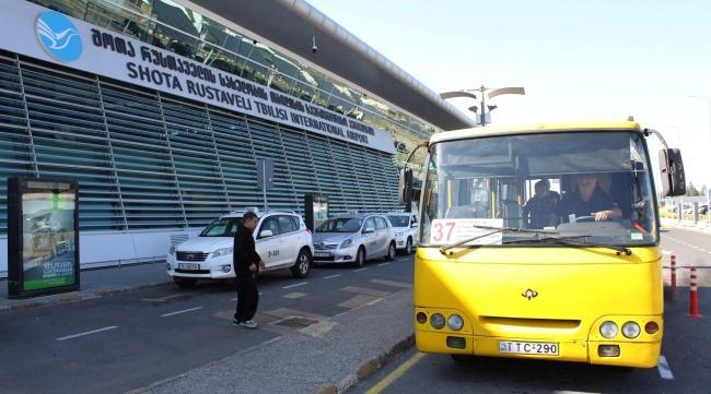 Автобус №37 доставит туристов до центра Тбилиси