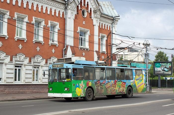В аэропорт Иркутска можно доехать на троллейбусе