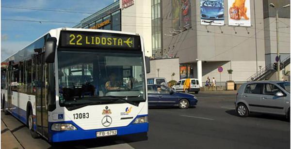Автобусный маршрут № 22