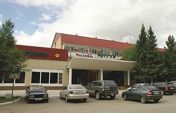 Гостиница Одуген расположена недалеко от аэропорта Кызыла