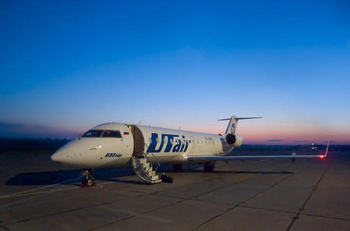 Авиакомпания «ЮТэйр» выполняет регулярные рейсы в аэропорт «Советский»