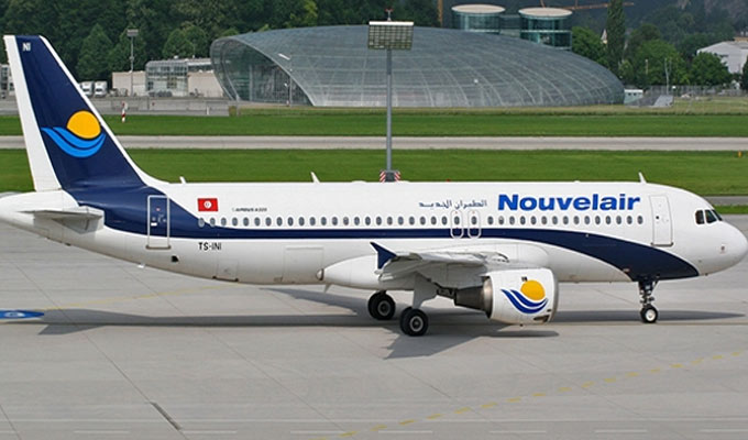 Самолет компании «Nouvelair Tunisie»